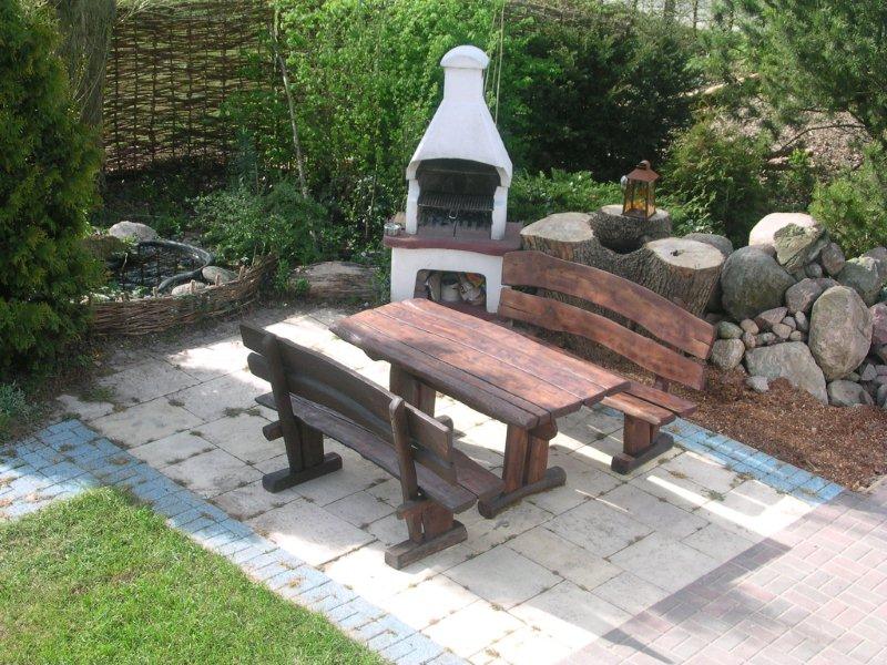 rustikale gartenm bel plodeck. Black Bedroom Furniture Sets. Home Design Ideas