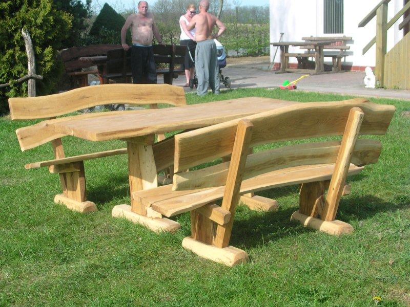 Rustikale Gartenmöbel - Plodeck
